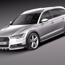 Audi A6 Allroad quattro 2013 3D Model