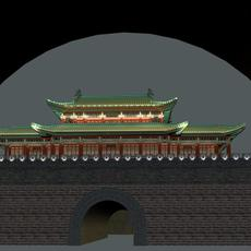 The Xichang archaic city 3D Model
