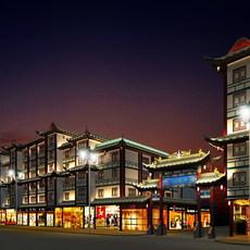 China street 002 3D Model