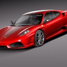 Ferrari f430 Scuderia 3D Model