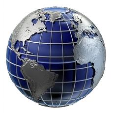 Clean Globe / 2 Versions 3D Model