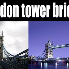 building 130 -london tower bridge 3D Model