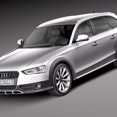 Audi A4 Allroad Quattro 2013 3D Model