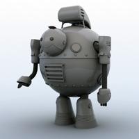 Robot 05 3D Model
