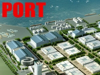 building 139 - complete port 3D Model