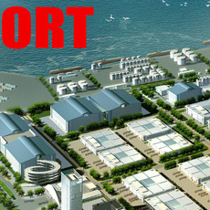 building 139 - complete port 3D Model