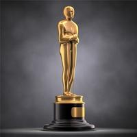 Academy award 3D Model