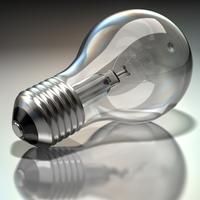 Standard Lightbulb 3D Model