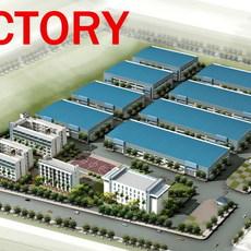 building 143 - a Factory 3D Model
