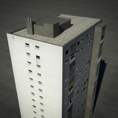 tower block 3D Model