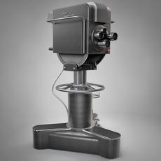 Television Camera 3D Model