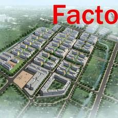 building 146 - a factory 3D Model