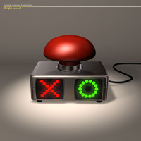 Quiz buzzer 3D Model