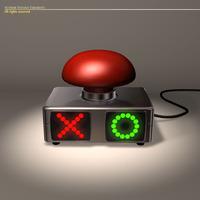 Quiz buzzer 3D Model