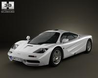 McLaren F1 1995 3D Model