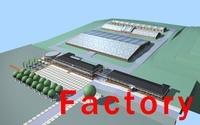 building 150 3D Model