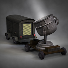 Sperry Searchlight 3D Model