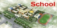 building 151- completed school 3D Model