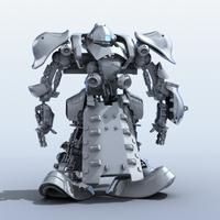 Robot 07 3D Model