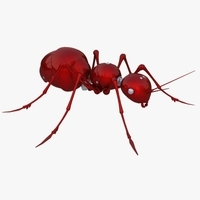 Mechanical Ant 3D Model