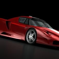 Ferrari FXX 05  3D Model