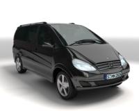 Mercedes-Benz Viano 3D Model
