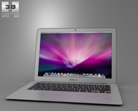 Apple MacBook Air 13 inch 2012 3D Model