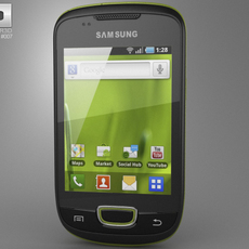 Samsung Galaxy S Mini 3D Model