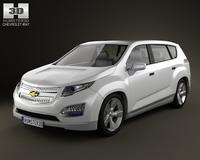 Chevrolet Volt MPV5 2012 3D Model