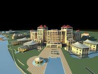 building 168 3D Model