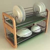 Dish Rack 01 3D Model