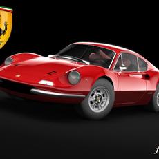 Ferrari 246 Dino 3D Model