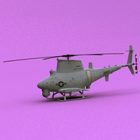 MQ-8 Fire Scout 3D Model