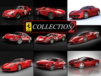 Ferrari collection 2 3D Model
