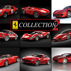 Ferrari collection 2 3D Model