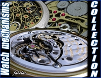 Watch mechanisms collection 3D Model