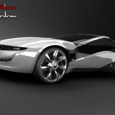 Alfa Romeo PANDION 3D Model