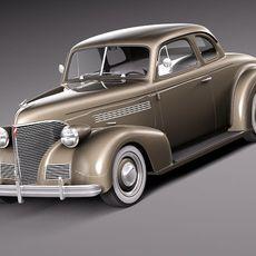Chevrolet 1939 Coupe 3D Model