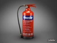 Fire extinguisher 3D Model
