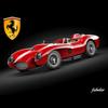 Ferrari 250 Testarossa 3D Model