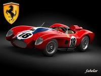 Ferrari 250 mod 1 3D Model