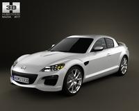 Mazda RX-8 2011 3D Model