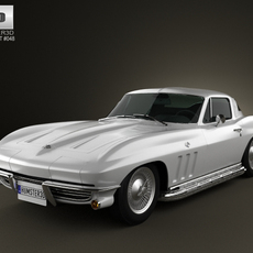 Chevrolet Corvette Sting Ray (C2) 1965 3D Model