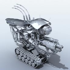 Robot 08 3D Model