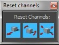 Free Channel reset for Maya 1.0.0 (maya script)