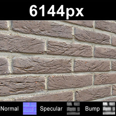 Brick 01 Wall - High Res Set
