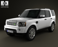 Land-Rover Discovery 4 (LR4) 2012 3D Model