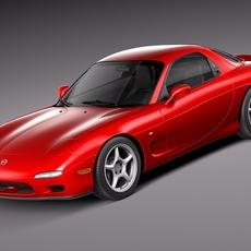 Mazda RX-7 1992-1996 3D Model