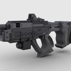 Sci Fi Gun 01 3D Model