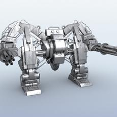 Robot 10 3D Model